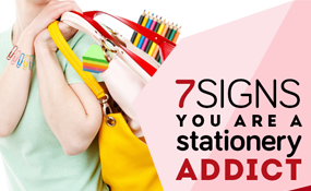 7 Signs You're A Stationery Addict